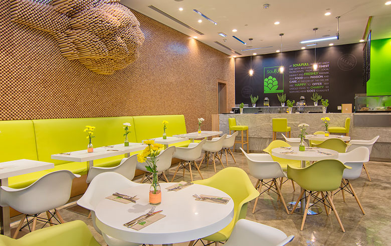 Soulfull restaurant Design by Thomas Klein International